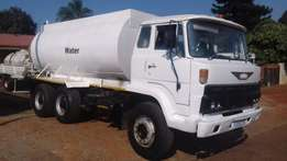 Hino ADE 407 Watertanker PTO 16000 liter Waterworks vvv