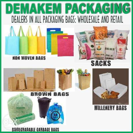 Brown khaki bags,Flour bags,Smokie bags,Chips sheets&bags,Meat sheets Zimmerman - image 1