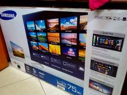 "75"" Samsung smart 3D tv"