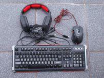Zestaw gracza klawiatura mysz podświetlana Genesis