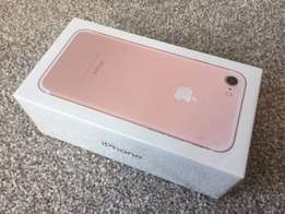 Brand new iphone 7 32gb rose gold