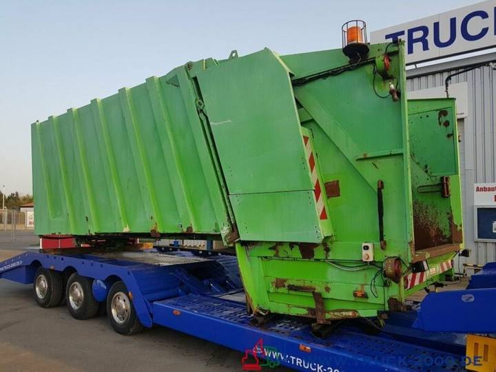 Faun Müllwagen Müllwagen Aufbau mit 80-1.1 Schüttung - 2001