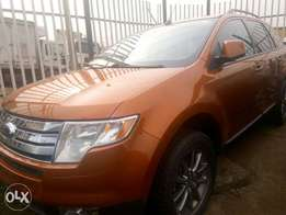 2008 Ford Edge Orange in Excellent Condition