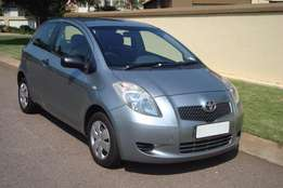 Toyota Yaris T1 3 Door 2008 Manual