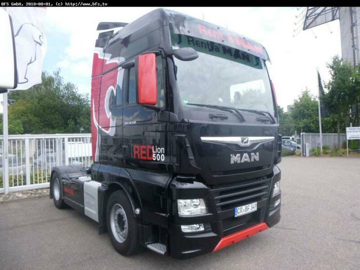 MAN TGX 18.500 4x2 BLS XXL, Red Lion 500 Edition, - 2017