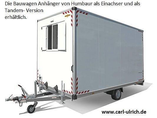Humbaur Bauwagen 154222-24PF30 Einachser