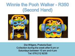 Winnie the pooh walker - Please call after 5 pm during the week