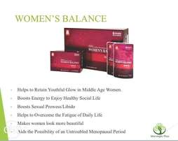 Korean red ginseng extracts women's balance