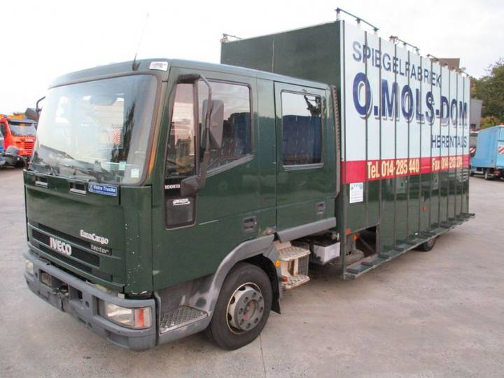 Iveco 100E18 Glas / Glass Transporter Double cab - 2003
