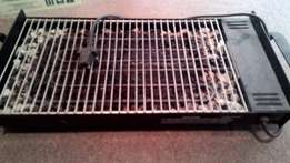 Electric stone grill plate
