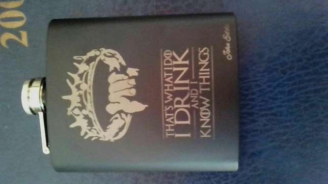 Game of Thrones Limited Edition Hip Flask Perfect Guy Birthday Gift Mountain View - image 4