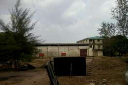 Fully equip factory inside 14 plots of land for quick sell