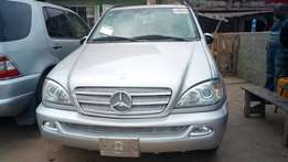 Tokunbo 2003 Mercedes-Benz ML350 (3rd Row)
