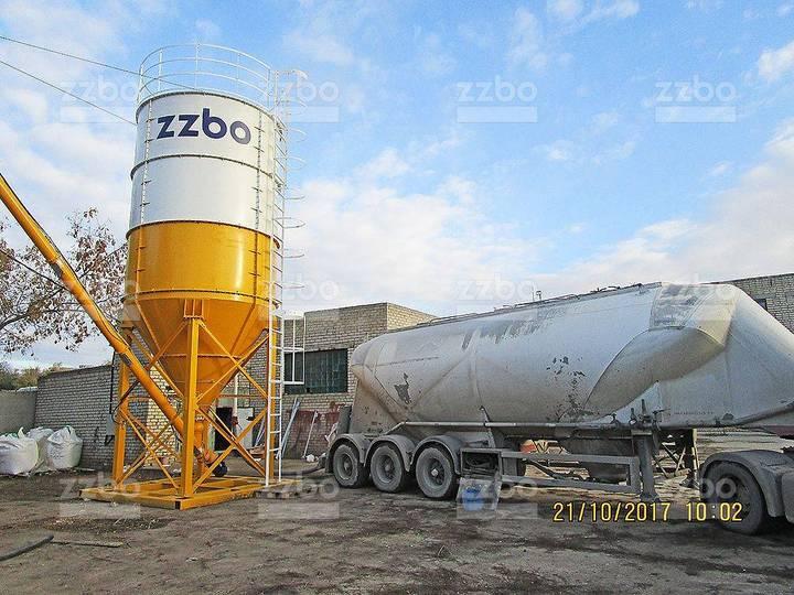 ZZBO Cement Silo Stsr-50 (50 Tons) Силос Цемента Сцр - 2019
