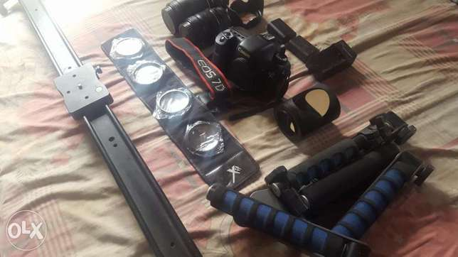 Canon EOS 7d and accessories Abuja - image 7