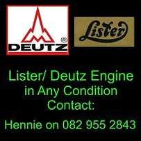 Wanted : Lister and Deutz Engines.