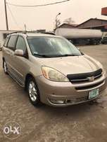 3 months registered Toyota sienna,2005 model