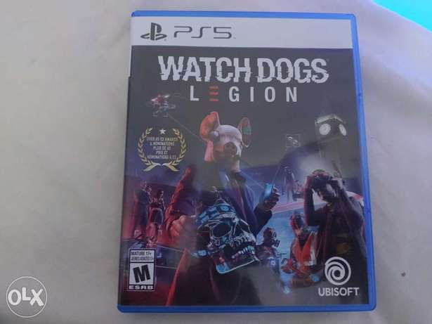 WHTCH Dogs Legion PS5