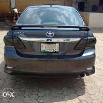 Tokunbo 2009 upgraded to 2013 Corolla sport