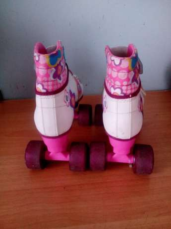 Four wheels barbie roller skate shoes Bombolulu - image 3