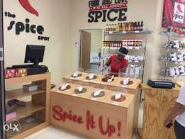 Spice Shop for sale