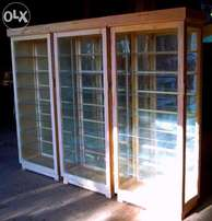 Custom made CABINETS - Model cars and Collectibles Display Cabinets.