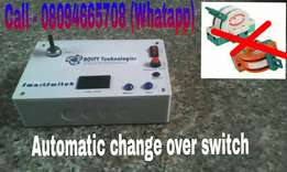 Generator ATS. Automatic change over switch For office and home