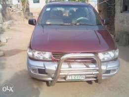 Clean mitsubishi car for sale manual gear 4 door car a/c and cd player