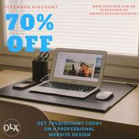 70% Discount for a professional Website