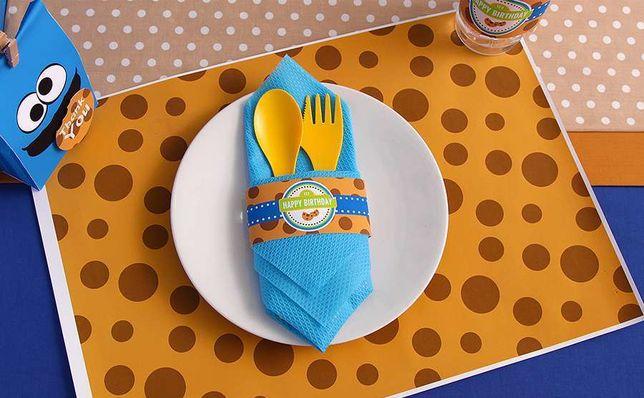 Ciasteczkowy Potwór Szablony Słodki Stół Urodziny Baby Shower
