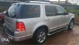 Reg Ford Explorer '05 Super Clean Engine 3 Rows First Body No Issues