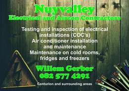 Electrical and Air Conditioning Contractor