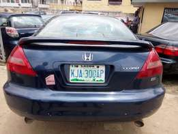 Super clean HONDA ACCORD COUP 2003 model full options