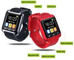 Smart Wrist Watch Phone Mate Bluetooth U80 For Android iPhone IOS,Blac