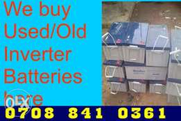 SELL your Used Solar Battery or Batteries Jalingo, Kaduna Abuja