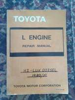 Toyota Hi Lux 2.2 Diesel 1980 - 83: Repair manual