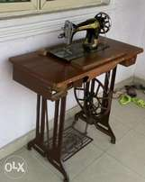 Fairly used Butterfly sewing machine.