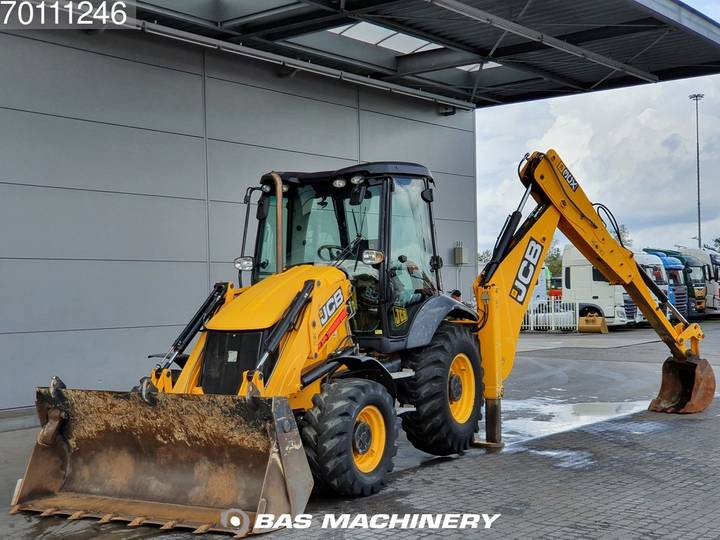 JCB 3CX MP bucket - Telescopic boom - hammer line - 2014