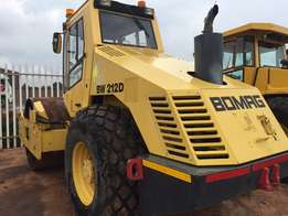 2001 Bomag BW212D smooth drum roller