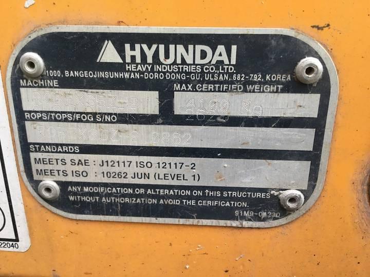 Hyundai Robex 3.5z-9 - 2014 - image 8