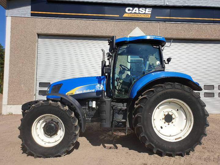 New Holland T6080 Pc Supersteer - 2009