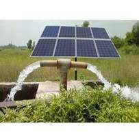 Solar pump system for farms and houses without electricity