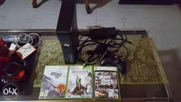 Used, Xbox 360 250gb with 3 games like new for sale  Pretoria North