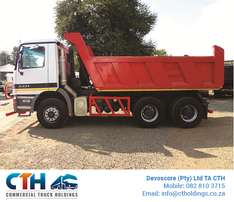 2008 Mercedes Benz Actros with 10m3 Tipper