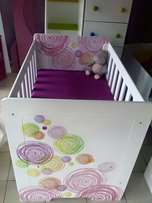 Baby cot bed Made of MDF