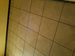 Tiling and carpeting