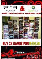 Audio Corp Games Sale: Buy any 2x Games for R199.95 Over 350 games