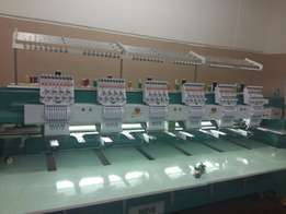 Brand new embroidery machine.with computer prn for sale in good price