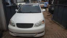 My super clean Toyota corolla 03 toks urgently for sale