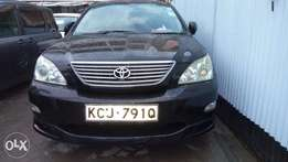 Toyota Harrier Used Locally.
